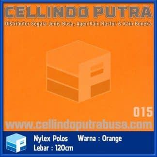 kain nylex warna orange