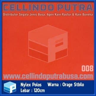kain nylex warna orange stabilo
