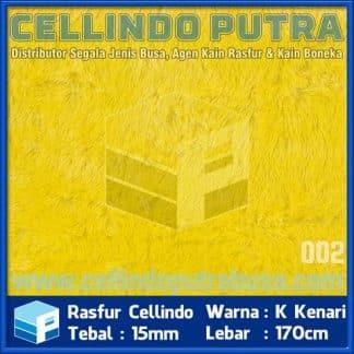rasfur cellindo warna kuning kenari