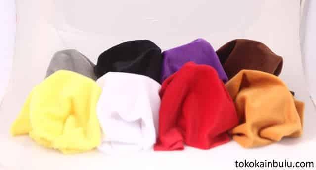 kain velboa warna polos